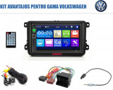 Cumpara ieftin [KIT] MP5 Player pentru Volkswagen, WinCE, Bluetooth, USB, CardSD, Camera Marsarier, Auxiliar, Mirrorlink, Touchscreen, - AD-BGPVW7010B