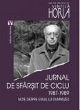 Jurnal de sfarsit de ciclu 1987-1989/Vintila Horia