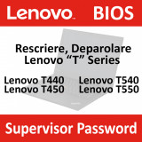 Deparolare, UNLOCK Bios Lenovo Thinkpad T440, T450, T540, T550