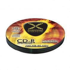 Mediu optic Esperanza CD-R EXTREME Soft Pack 700MB 52x Silver 10 bucati