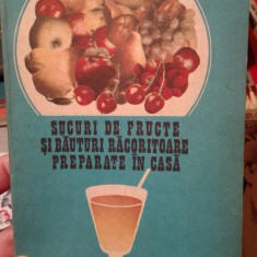 Sucuri de fructe si bauturi racoritoare preparate in casa – Jean Jurubita