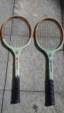 2 rachete tenis romanesti fabricate la Reghin in perioada comunista
