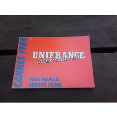 CANNES 1984, UNIFRANCE INTERNATIONAL (CARTE IN LIMBA FRANCEZA)