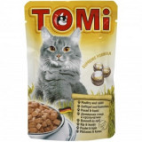 Tomi Cat cu Pui si Iepure, 20 plicuri x 100 g