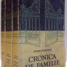 CRONICA DE FAMILIE de PETRU DUMITRIU, VOL I-III , 1958