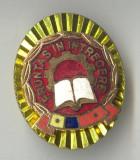 Insigna Fruntas in Intrecere - varianta ovala - clasa a 1a