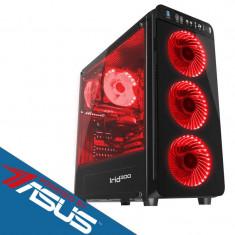 Sistem desktop Primal Gaming Plus Powered by ASUS Intel Core i5-9400F Hexa Core 2.9 GHz 16GB RAM DDR4 Placa video Asus nVidia GeForce GTX 1050 Ti STRI