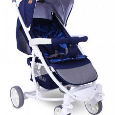 Carucior copii Lorelli S300 cu acoperitoare pentru picioare Blue