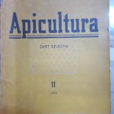 Apicultura, Caiet selectiv, Nr. 11, 1961