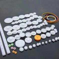 Set HOBBY 75 roti dintate + curele ptr. ROBOT CNC MECATRONICA DRONA