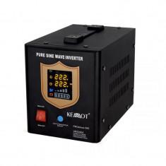 UPS pentru centrale termice PRO Sinus KEMOT, 300 W, negru
