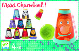 Joc de indemanare Piramida din conuri, Djeco, Maxi Chamboul