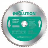 Cumpara ieftin Disc pentru fierastrau circular, taiere aluminiu Evolution EVO80TBLADE14-0514, O355 x 25.4 mm, 80 dinti