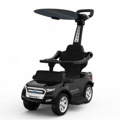 Carut pentru plimbat copii 2 in 1 Ford Ranger STANDARD Negru