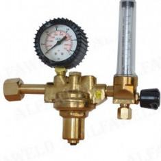 Reductor presiune argon/Co2 Alfared rota cu reglaj cu bila