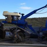 Motocultor irus cu motor sachs