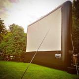 OCAZIE! ECRAN GONFLABIL profesional 6x9 metri original AIRSCREEN Germania, Ecran proiectie