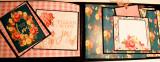 Album floral de aniversare pentru 75 poze