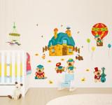 Cumpara ieftin Sticker perete copii - Ursuleti in actiune