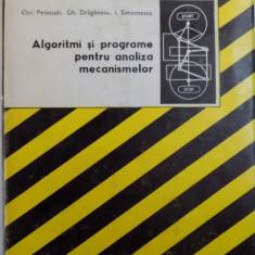 ALGORITMI SI PROGRAME PENTRU ANALIZA MECANISMELOR de CHR. PELECUDI...I . SIMIONESCU , 1982
