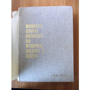 MONUMENTE ISTORICE BISERICESTI DIN MITROPOLIA MOLDOVEI SI SUCEVEI, cartonata