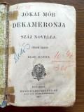 Jókai Mór: Kárpáthy Zoltán 1907/ Dekameronja,