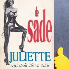 Juliette sau deliciile viciului  Marchizul de Sade