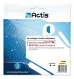 Cartus compatibil Canon CLI-571XL, Yellow, 12 ml, Actis