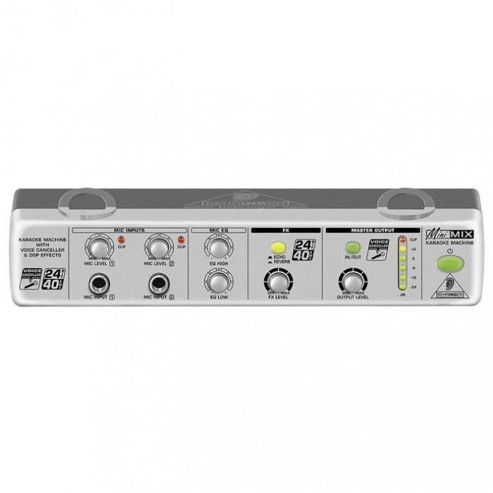 Mixer audio Behringer MIX800 (karaoke)