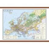 Europa. Harta economica 1400x1000 mm (GHCE1E)