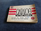 CATALOG DE FISE TEHNICE UTILAJE DE SERIE MICA UTILAJE DE MICA MECANIZARE 1971