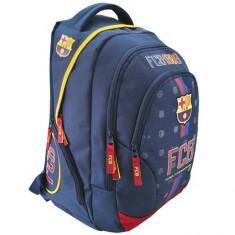 Ghiozdan FC Barcelona cu 3 compartimente 45 cm