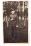 Fotografie Militar in uniforma Spitalul Militar Regina Elisabeta Bucuresti 1932