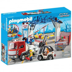 Playmobil City Action - Terminal de incarcare marfa