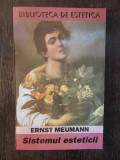 SISTEMUL ESTETICII - ERNST MEUMANN