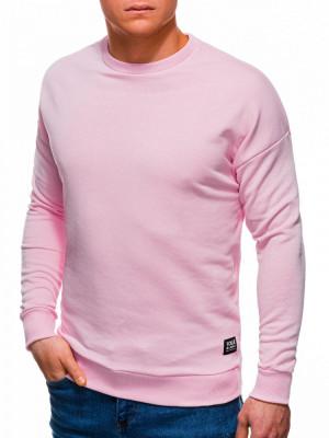 Bluza barbati B1229 - roz foto