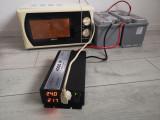 Invertor SINUS PUR 4000 W 24 V-220V panouri solare si auto una pura rulota casa