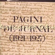 Pagini De Jurnal (1921-1927) - P. P. Panaitescu - Tiraj: 2790 Exemplare