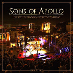 Sons Of Apollo Live With The Plovdiv Psychotic Symphony (bluray)