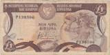 CIPRU 1 POUND LIRA 1984 UZATA