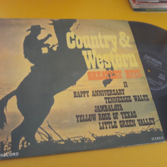 DISC VINIL COUNTRY&WESTERN GREATEST HITS II EDE 01838 STARE EXCELENTA