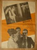 Afis pt.Filmul- Reteaua S-V.Calotescu 1980 cu R.Beligan ,G.Dinica ,F.Piersic