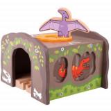 Tunel cu T-Rex, BigJigs Toys