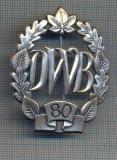 "AX 226 INSIGNA -TURISM MONTAN - DRUMETIE - ,,DWB"" 80 -FRUMOASA"