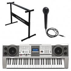 Cumpara ieftin Orga electrica, 61 clape, stand si microfon incluse