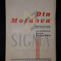 WILHELM DE KOTZEBUE - DIN MOLDOVA [ tablouri si schite din anul 1850 ] , 1944