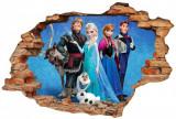 "Sticker ""Wall Crack"" Frozen 3 - 120 x 80 cm"
