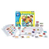 Joc interactiv La cumparaturi Orchard Toys, 19 x 14 x 5 cm, 32 carduri, 3-7 ani