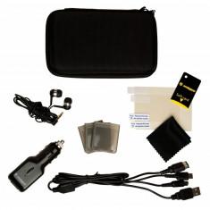 3DS Travel Pack incarcator, casti, husa, carcasa , microfibra - 60257, Huse si skin-uri