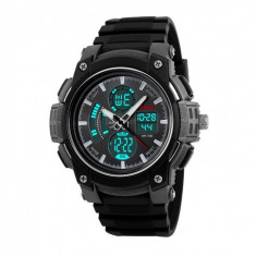 Ceas Barbatesc SKMEI CS1080, curea silicon, digital watch, functie cronometru, alarma